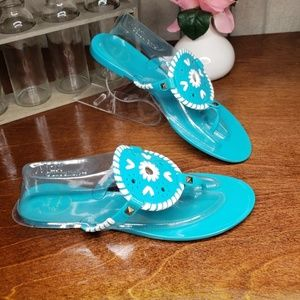 Jack Rogers Georgica Jelly Flip Flops size 9